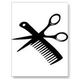 Today the hair getsit